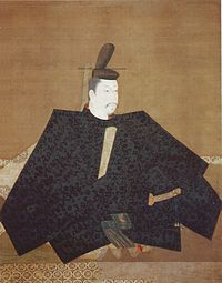 This is Minamoto-no-Yoritomo; this particular image is unusual in that it's actually from the period. It was painted in 1179, during his exile to the East.