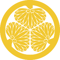 This is the mon (crest) of the Tokugawa family.