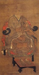 This is Hojo Tokimune, the shikken who defied Kublai Khan's demand for submission and eventually defeated him.