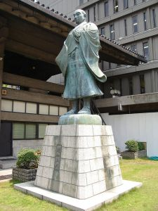 This is a picture of Rennyo, the Jodo Shinshu monk whose teachings formed the basis of Ikko Ikki doctrine. Rennyo was careful to distance himself from the more violent aspects of Ikko thought; as a result, his teachings remained legal even after the Ikko were suppressed.