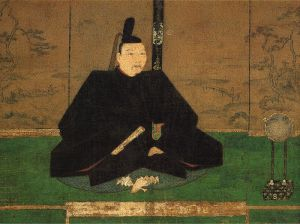 This is Ashikaga Yoshimasa, the last effective shogun of the Muromachi bakufu. After the outbreak of the Onin War, Yoshimasa retreated into an escapist world of high culture based out of Higashiyama, a suburb of Kyoto removed from the fighting. The historical image of him engaging in revelry while Kyoto burned just a mile away remains one of the defining symbols of the decline of the Ashikaga.