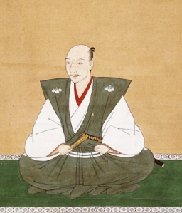 This is a period image of Oda Nobunaga, the first of the three unifiers.