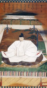 This image of Toyotomi Hideyoshi dates from 1601, three years after his death.