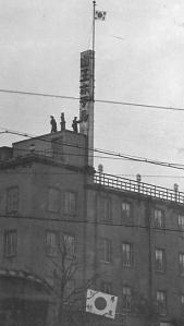 Kodoha rebels occupying the Sanno Hotel in Tokyo during the February 26 coup attempt.
