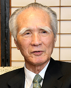 Murayama Tomiichi, the last of the three non-LDP Prime Ministers of the 1990s. Murayama's most famous accomplishment during his year in office was the issuing of the Murayama Statement apologizing for Japanese behavior in World War II.