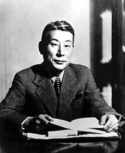 Sugihara Chiune at the height of his career working for the Ministry of Foreign Affairs. Courtesy of the Wikimedia Foundation.