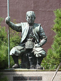 Shibata Katsuie, the warlord and Nobunaga loyalist who led the campaign to eradicate the Ikko Ikki in Echizen. He would later be crushed when he rebelled against Toyotomi Hideyoshi, with Hideyoshi taking advantage of the remaining Ikki members' hatred for Shibata to enlist their aid in defeating him.
