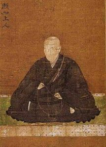 Kennyo, the Patriarch who was unlucky enough to be in charge during the wars against the Tokugawa and Oda. He was able to successfully rescue his faith from the brink by currying favor with Toyotomi Hideyoshi, who allowed the sect to rebuild and survive.