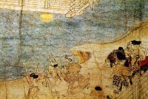 The Shigisan Engi. Courtesy of the Wikimedia Foundation.