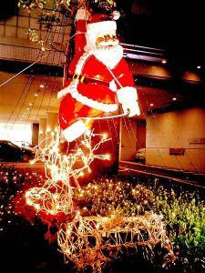 A Christmas float in Kobe, Japan.