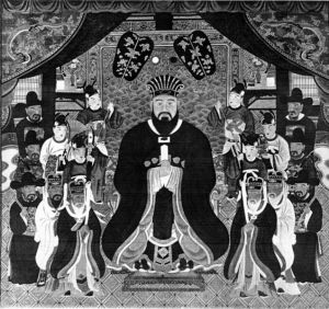 King Sho Shin, Grandson of Sho Hashi and third king of the Ryukyus.