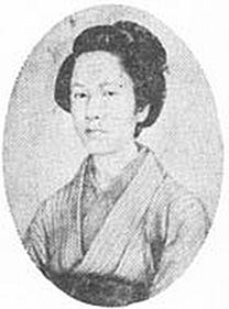 Nakano Takeko. This picture was taken only a few months before her death.