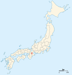 The location of Iga province.