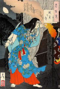 Yamato Takeru, the imperial prince who dressed as a woman to assassinate his enemies.