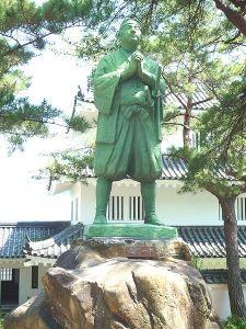 Amakusa Tokisada, the leader of the Shimabara Rebellion.