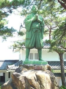 Amakusa Tokisada, the leader of the Shimabara Rebellion.