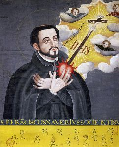 St. Francis Xavier, the man who would open the floodgates for Japanese Christianity.