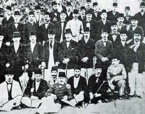The Young Turks, a pro-reform group who used the victory at Tsushima to force the Sultan Abdul Hamid II to accede to their demands for reform.