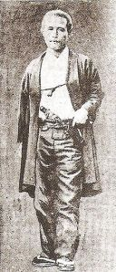 Katsu Kaishu, the man who surrendered Edo castle to the Imperial Army to avoid the destruction of Japan's capitol city. He would eventually go on to lead the Imperial Japanese Navy.