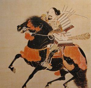 Ashikaga Takauji in full battle gear.