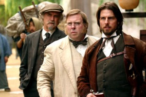 Some of the major Western characters from the film. On the right is Tom Cruise's character Nathan Algren, based in part off the French officer Jules Brunet. In the center is Simon Graham, based on the real life British diplomat Sir Ernest Satow.