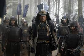 Watanabe Ken as Katsumoto, the leader of an anti-government samurai rebellion. Note the historically inaccurate lack of firearms.