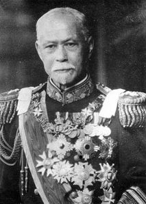 Yamamoto Gonnohyoe (sometimes his first name is given as Gonbei). He brought the military back under control in 1913 and restricted its ability to influence policy, despite being a former military man himself (he was a retired Admiral).