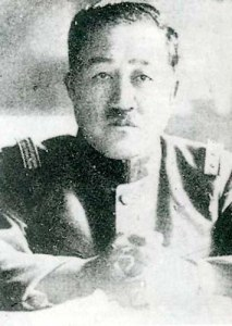 "Doihara Kenji, leader of the group in the Guandong Army which planned the invasion of Manchuria. He was an opium addict who preferred the nickname ""Lawrence of Manchuria,"" in reference to T.E. Lawrence."