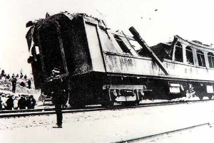 The railcar of Zhang Zuolin, assassinated by Doihara Kenji in 1928 as part of a plot to enable the Guandong Army to seize Manchuria. This attempt failed as the predicted civil strife never materialized; the next in 1931 would succeed.