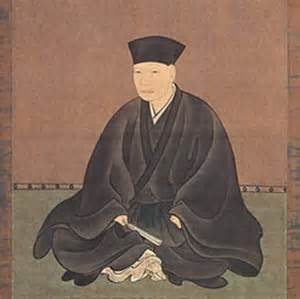 Sen no Rikyu, Japan's greatest Tea Master.