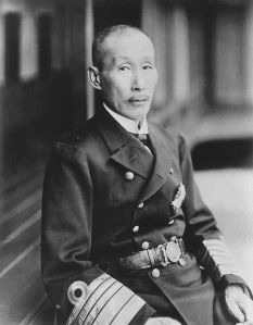 Kato Tomosaburo, the pro-Washington Naval Conference Naval Minister. The effort of getting the treaty accepted literally worked him to death.