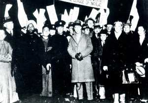 The Lytton Commission in Shanghai as they prepare to investigate goings on in Manchuria.