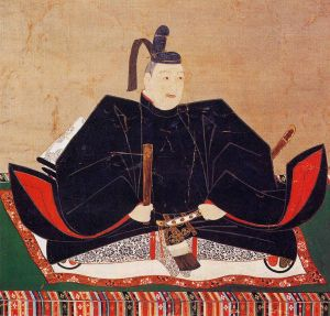 Tokugawa Hidetada, Ieyasu's son and successor as the second Tokugawa shogun.