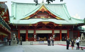 Kanda Myojin Shrine, in which Taira no Masakado is enshrined today.