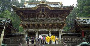 Nikko Toshogu Shrine, a monument either to Ieyasu's greatness or his ego -- depending on your point of view.