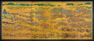 The Siege of Osaka Castle .