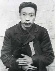 An Jung-geun, the Korean nationalist who believed Ito Hirobumi was poisoning the Meiji Emperor and Japan against Korea. His assassination of Ito would ironically remove the one man in the leadership of Japan who strongly objected to annexation.