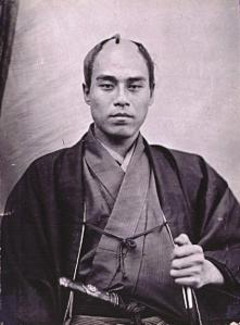 A young Fukuzawa during a trip to Paris in 1862.