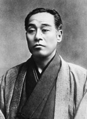 Fukuzawa at the height of his career in the 1880s. Courtesy of Keio University.