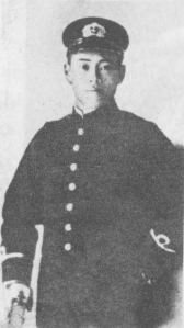 Yamamoto Isoroku upon graduation from the Imperial Japanese Naval Academy in 1904. He would go on to serve in the war with Russia, where he would lose two of his fingers.