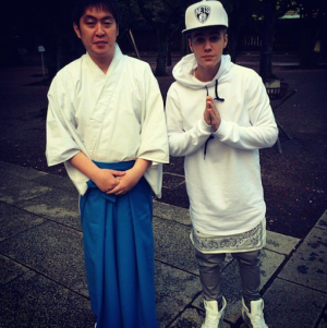 If I could do it all again I'd spend much more time on that one time Justin Bieber visited Yasukuni Shrine. Courtesy of Slate.com.