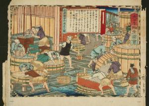 Sake brewing was one of many side employments used by farmers to make some extra cash.