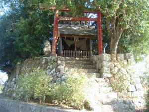 Jofuku Shrine, where Xu Fu (Jofuku in Japanese) was enshrined as a kami by Tokugawa Yorinobu in the 1630s. Courtesy of the Mie Prefecture Tourism Bureau.