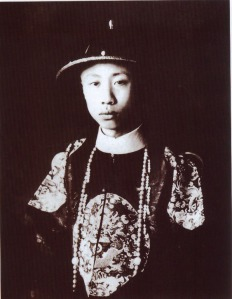 "Puyi in 1922, during his ""house arrest"" in Beijing."