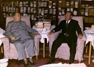 Mao Zedong and Tanaka Kakuei meeting, December 27, 1972.