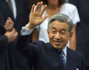 Emperor Akihito is respected in Japan, but wields no actual political authority.