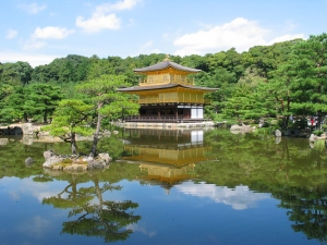 "Kinkakuji, an answer to the ancient question ""can you ever have too much gold?"""