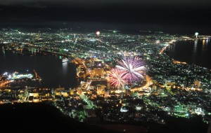 A view of Hakodate city from Mt. Hakodate. I irrationally love this city.