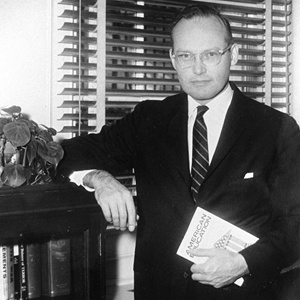 Mc George Bundy, the ghostwriter on both Henry Stimson's memoir and his article in Harpers in 1947.