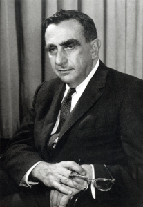 Edward Teller, c. 1958. Teller defended the project to his grave as an absolute necessity.